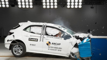 VIDEO: Crash Test Toyota Corolla Hatchback (Australian NCAP)