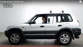 VIDEO: Perkembangan Mobil Selama 100 Tahun