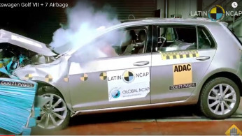 VIDEO: Crash Test Volkswagen Golf Mk7 2017 (Latin NCAP)