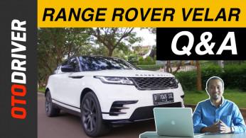 VIDEO: Range Rover Velar Q&A | OtoDriver