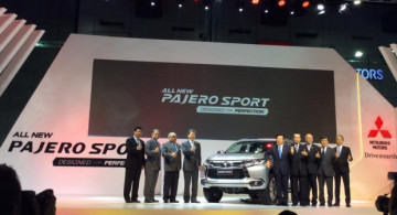 Mitsubishi All New Pajero Sport Resmi Diluncurkan