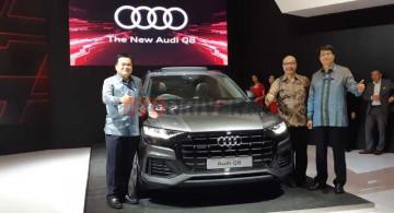 GIIAS 2019: Usung Mild-Hybrid, Audi Q8 Jadi SUV Flagship Baru