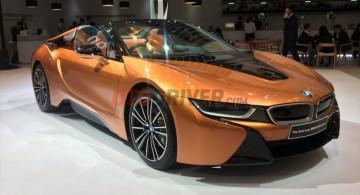GALERI: BMW i8 Roadster 2018 di GIIAS 2018 (18 Foto)