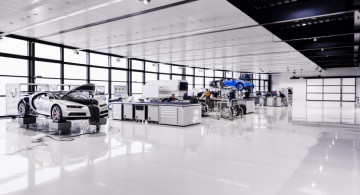 Wow, Beginilah Cara Bugatti Chiron Dibuat (10 FOTO)
