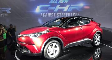 GALERI: Toyota C-HR 2018 (19 Foto)
