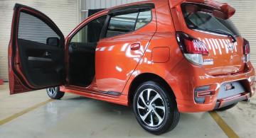 GALERI: Daihatsu Ayla 1.2R Deluxe 2017 (20 Foto)
