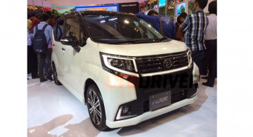 GIIAS 2015 : Daihatsu Memamerkan 15 Mobil, berikut foto-foto nya.