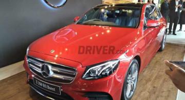 GALERI: Mercedes-Benz E350 EQ Boost AMG Line (19 Foto)