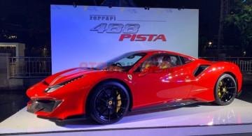 Ferrari 488 Pista Hadir Untuk Pertama Kali Di Indonesia (10 FOTO)
