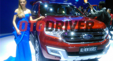 3 Mobil Baru Ford Meluncur, New Ranger, New Focus dan All New Everest