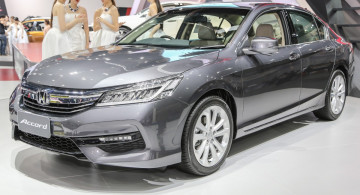 GALERI FOTO: Honda Accord Facelift 2016
