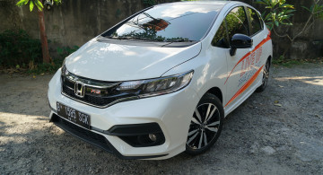 GALERI: New Honda Jazz RS Facelift (14 FOTO)