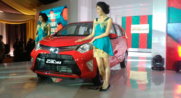 GALERI FOTO: Peluncuran Resmi Toyota Calya (13 Foto)