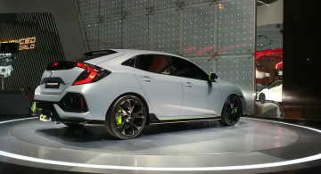 GALERI FOTO: Honda Civic Turbo Hatchback (11 Foto)