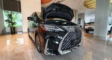 Penampakan Detail Lexus LM350 Indonesia