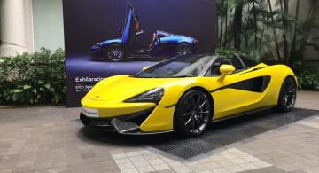 GALERI: McLaren 570S Spider (17 Foto)
