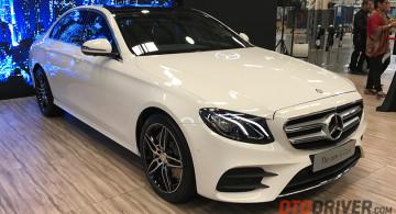 GALERI: Mercedes-Benz E 300 AMG Line CKD  2017 (19 FOTO)