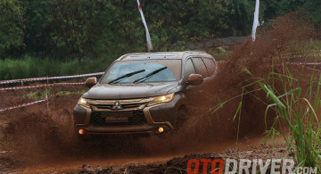 Galeri: Aksi Mitsubishi All New Pajero Sport di Lintasan Off-Road