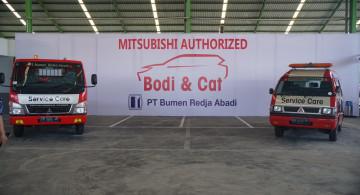 GALERI: Bengkel Perbaikan Bodi Terbaru Mitsubishi Di Denpasar (13 FOTO)