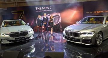 GALERI: Seri-7 Facelift Rakitan Sunter, Sedan Premium Termewah BMW