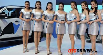 GALERI FOTO: Model Cantik Nan Sensual Bangkok Motor Show 2016