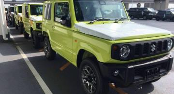 Menggemaskan, Suzuki Jimny Generasi Terbaru Mulai Dikirim ke Dealer (9 Foto)