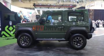 EKSKLUSIF: Suzuki Jimny Generasi Terbaru Terungkap di H-1 GIIAS 2018 (12 Foto)