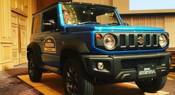Melihat Lebih Dekat Suzuki Jimny Sierra Generasi Keempat (11 Foto)