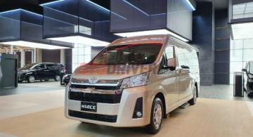 New Toyota HiAce Premio Resmi Meluncur, Naik RP 41Juta