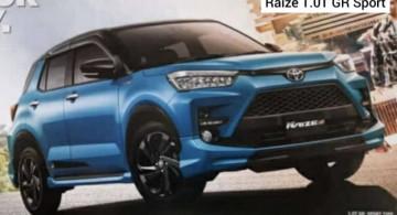 Brosur Toyota Raize Terkuak! (8 FOTO)