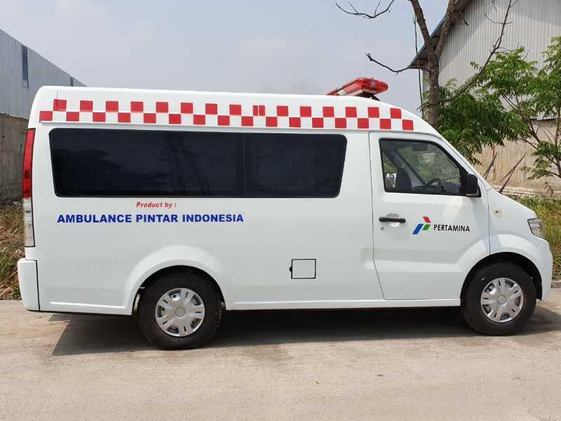 Mobil Ambulance Buatan API ( Ambulance Pintar Indonesia )